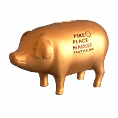 Golden Pig Piggy Bank
