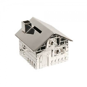 silver money box