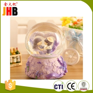Custom wedding Snow Globe