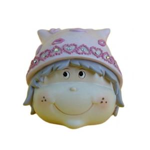 Girl Head Money Bank